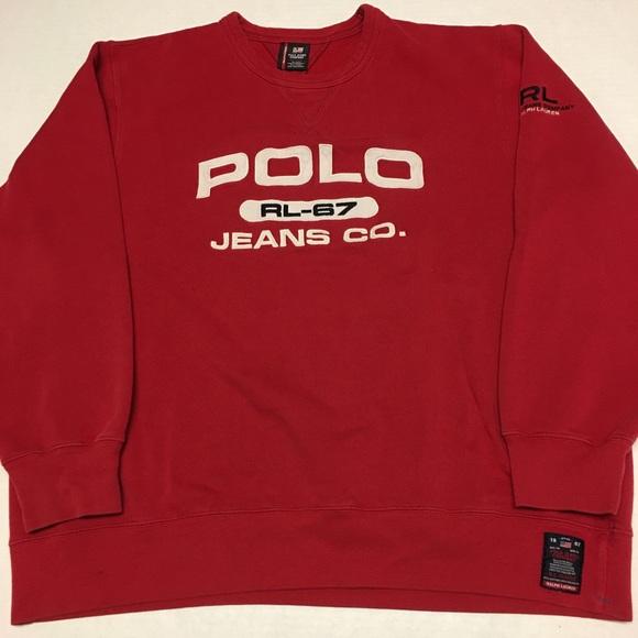 b2390a84 Polo by Ralph Lauren Shirts   Vintage Polo Ralph Lauren Jeans Co ...